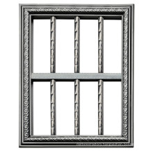 Stainless Steel Fixed Window Grills with Strong Pipes