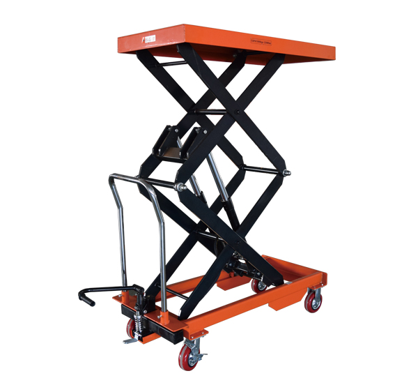 manual scissor lift table trolley