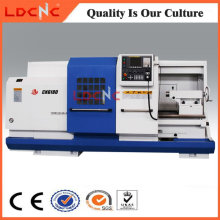 Máquina horizontal do torno do metal do CNC do preço barato Ck6180