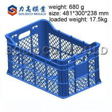 Molde da caixa da fruta da fábrica de TaiZhou, fabricante do molde da caixa, modelação por injecção plástica