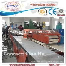 Venta caliente pvc máquina de techo