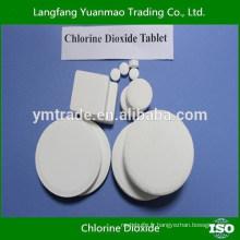 Traitement de l'eau potable Chlorure de chlore et tablette en poudre