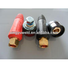 cable connector to machine/mig welding cable connector