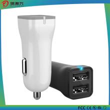 Cargador doble inteligente del coche del USB 2.4A máximo (CC1509)