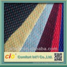 Tela de tapicería de colores Auto personalizado