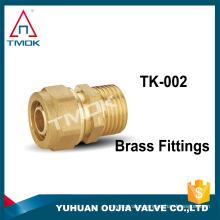 "TMOK 1/2"" DN15 Sanitary Female Threaded Ferrule Pipe Fitting Brass Forged Fitting"