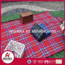 Couverture extérieure imperméable à l'eau 100% acrylique, Couverture de pique-nique acrylique facile à transporter, Tapis de camping pique-nique acrylique imperméable à l'eau portable