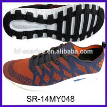 SR-14MY048 knitted shoes knit men running shoes sports s fashion new design knit
