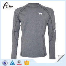 Mann sexy graue Farbe Shirts Fitness Wear