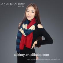 2015 cachemira cachecol de lã de cachecol de lã de cachemira