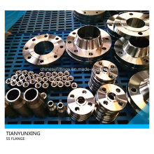 304L Stainless Steel Forged Pipe Fittings Flanges
