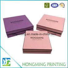2 Peice Handmade Custom Paper Gift Box