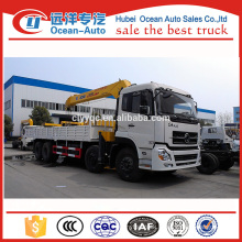 Dongfeng Kinland heavy truck mounted crane with XCMG crane for sale