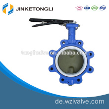 PN16 Handle Manual Wafer Center Butterfly Valve JKTL BT044L