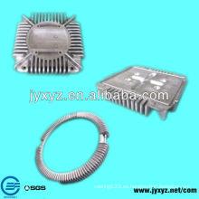 disipador de calor de aluminio de extrusión de diseño personalizado