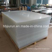 Feuille en plastique de vinyle de PVC avec l'épaisseur de 3mm