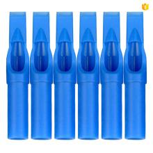 Pointe de tatouage jetable haute qualité 15FT Bleu