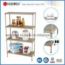 4 niveles de polvo ajustable revestimiento de perforación de almacenamiento de metal de almacenamiento (CJ-B1218)