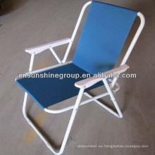 Customized new design leisure metal outdoor sand beach chair