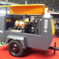 HG300M-10 medium 10bar diesel screw air compressor