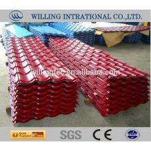 Южная африка крыша стальная плитка лист хорошее качество сделано в Китае