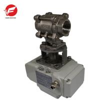 Using simply valve electric actuators for under-floor,rain water
