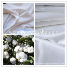 100% cotton optical white bleached sheeting fabric