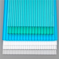 UV Honeycomb creux pour toiture de serre