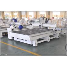 Carpintería Muebles de madera SG 2.0 * 3.0m tres cabezas cnc router máquina