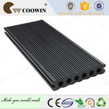 Europa alta calidad 140x25mm gris oscuro cubiertas comercialización WPC