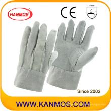 Полные натуральные кожаные рабочие рабочие перчатки (11022)