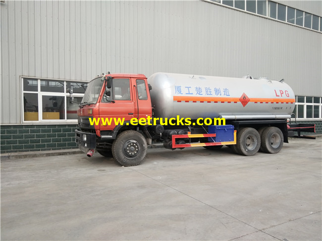 DFAC Propane Transportation Trucks