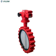 Electric Actuator Lug Lt Type Butterfly Valve Manufacturer
