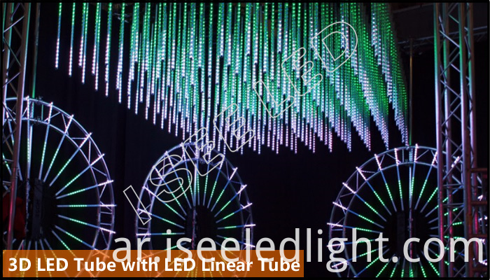 3D led tube with LED Linear Tube