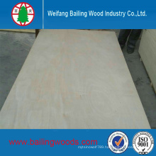 18mm Poplar Core Okoume Commercial Plywood with Cheap Price