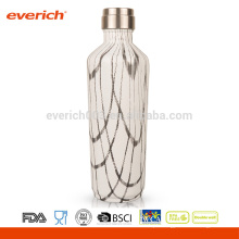 Balão de vácuo promocional de parede dupla de aço inoxidável Everich com revestimento colorido
