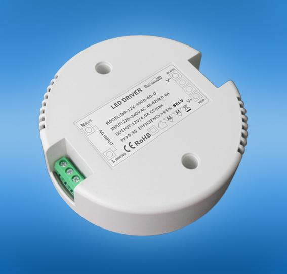 48w 1A Round Led Driver