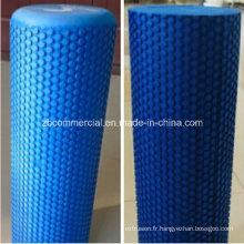 Rouleau de mousse d'exercice de yoga de rouleau de mousse de yoga (logo imprimable)