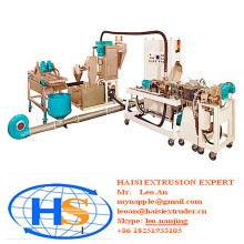twin screw pelletizing extruder