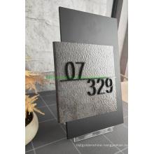 Acrylic Door Number Display Plate