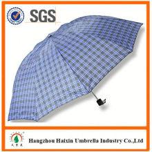 Dernière usine gros Parasol impression Logo logo impression pli, parapluie