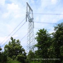 220 kV Tipo de cabeza de gato Ángulo Torre de hierro