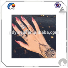 Autocollant de tatouage de henné de tatouage bohème temporaire de tatouage imperméable avec de haute qualité