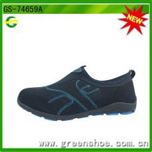 Heiße verkaufende populäre Dame-beiläufige Schuhe (GS-74659)