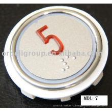Лифтовая кнопка для тревоги вентилятора, Подъемные части