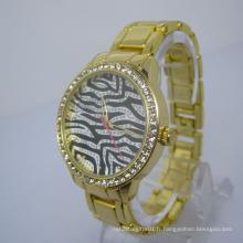 2016 nouvelle montre-bracelet de quartz résistant à l'eau