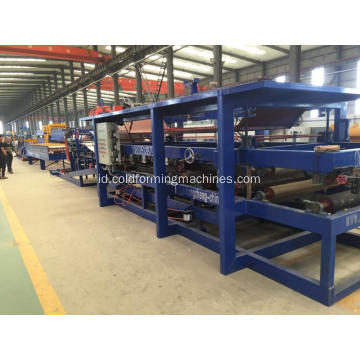 Fireproof Rock Wool Sandwich Panel Membuat Mesin