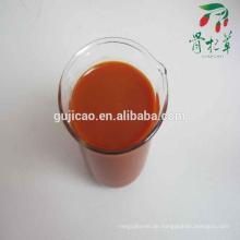 Konzentrierter Goji-Saft 100% natürlicher Goji-Saft