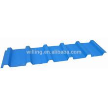 2016 Небесно-голубая глазурованная сталь Прочная стеновая панель Холоднокатаный лист