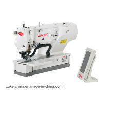 Zuker Juki computador botão reta fura a máquina de costura Industrial (ZK1790ASS)